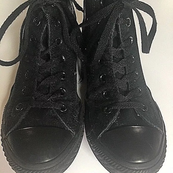 all black converse size 3, OFF 76%,Buy!